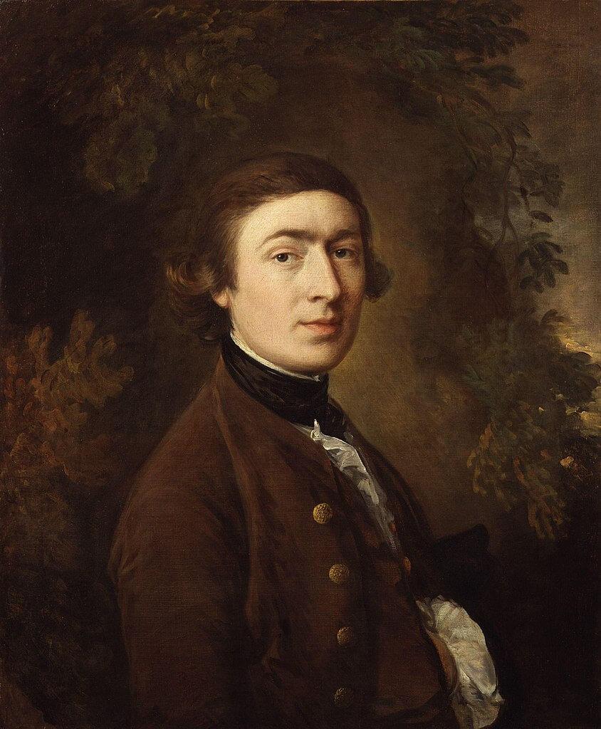 Thomas Gainsborough. Self-portrait. 1758-1759.