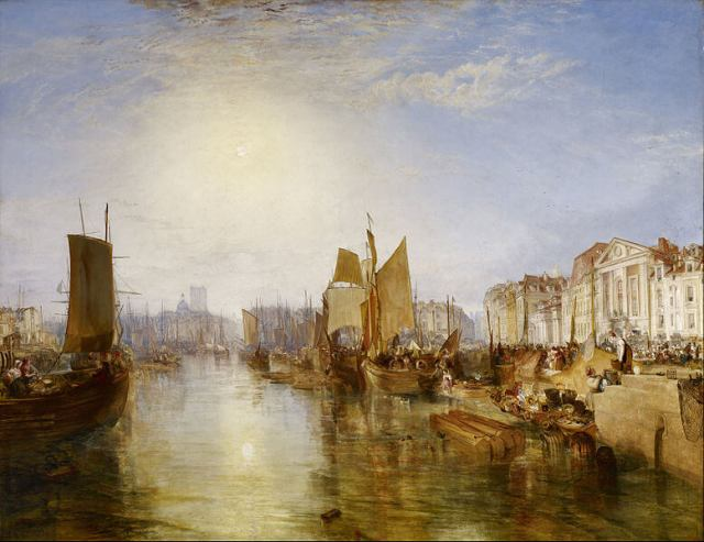 William Turner. The Harbour of Dieppe. 1826.