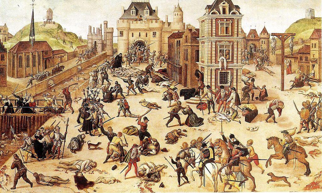 Francois Dubois. The Massacre of St. Bartholomew