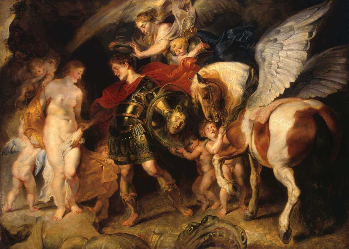 Rubens Perseus and Andromeda