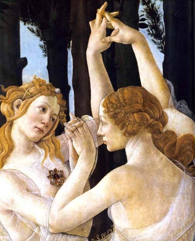 Botticelli Spring fragment