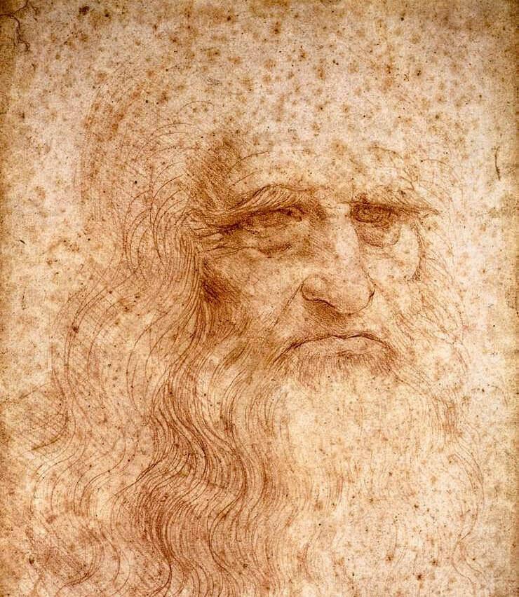 Leonardo da Vinci. Self-portrait