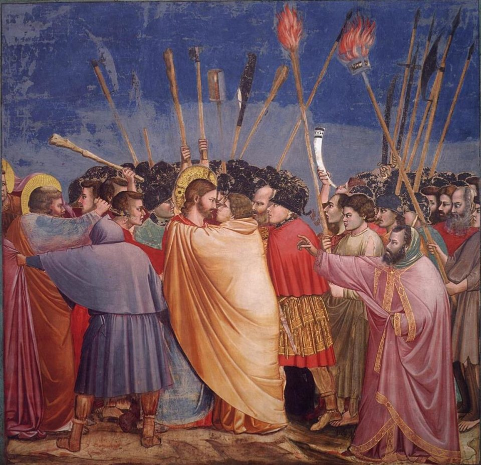Giotto. Kiss of Judah
