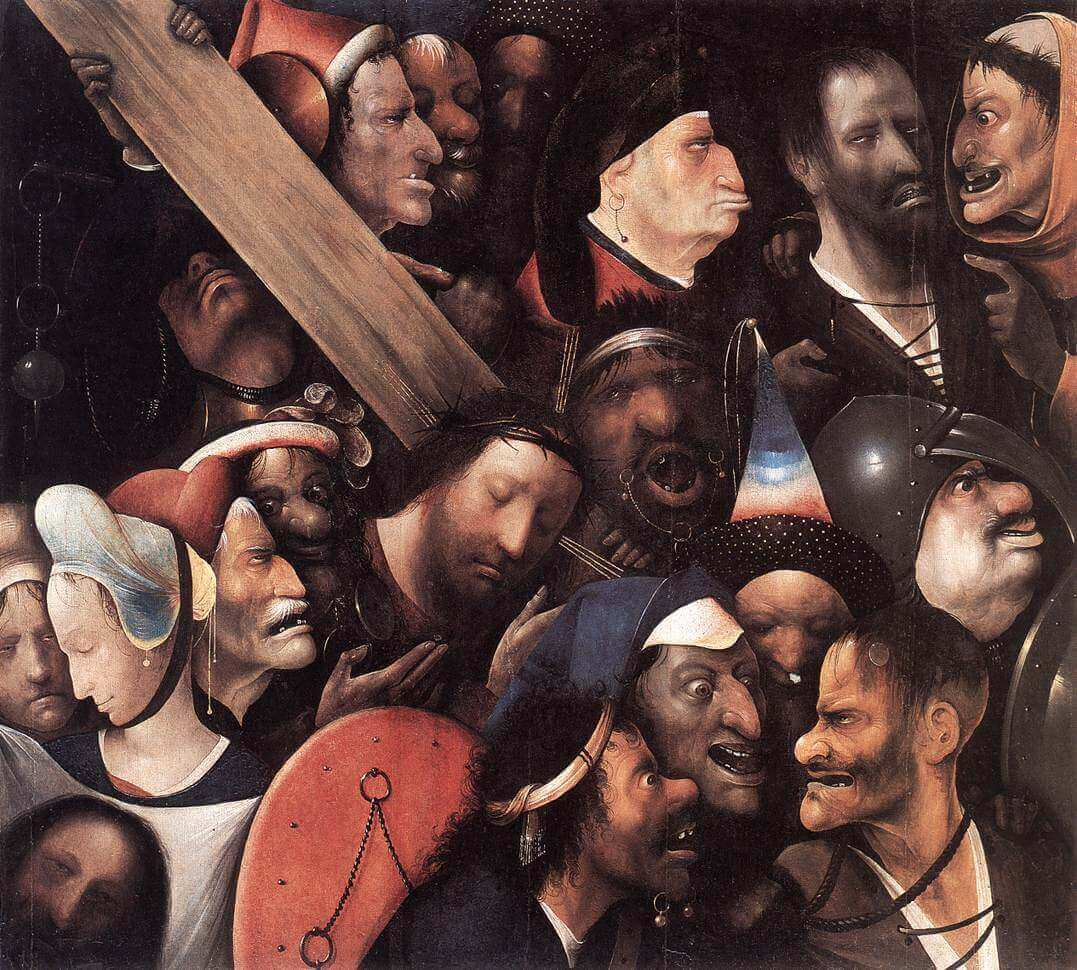 Bosch. Christ Carrying the Cross. Ghent