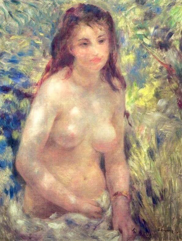 Renoir Nude to Sunlight