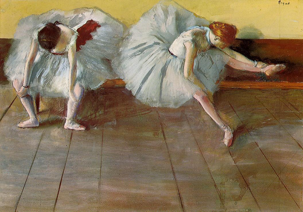 Degas Two Ballet Dancers at Shelburne Museum