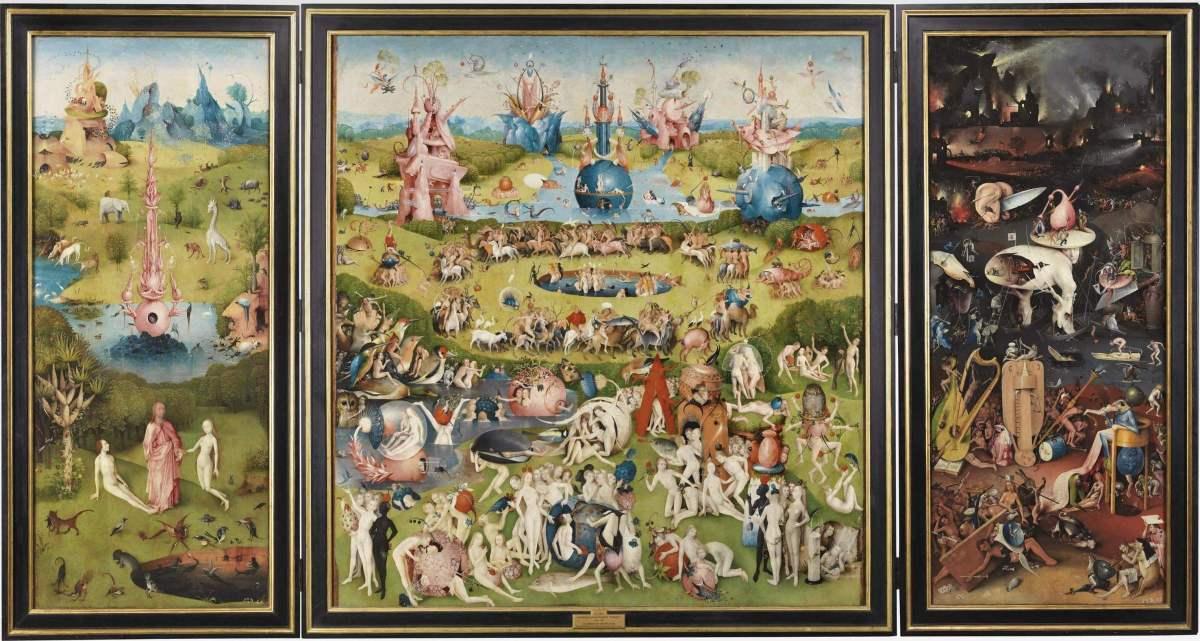 Bosch garden of earthly pleasures