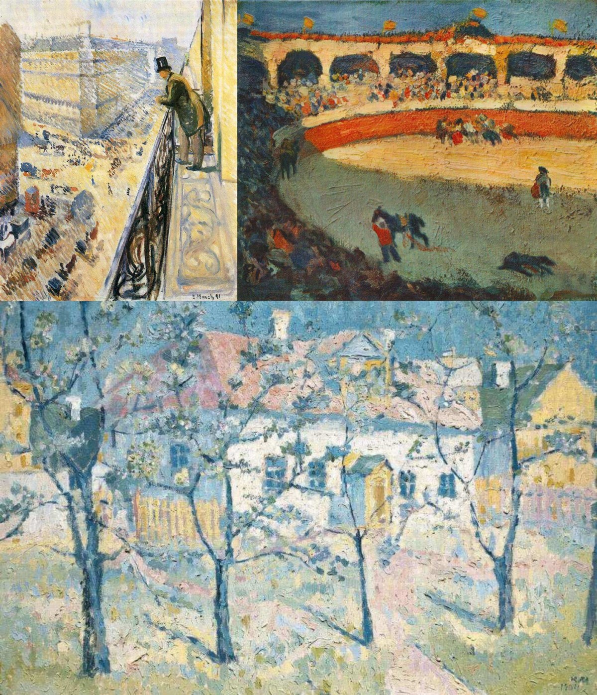 Munk, Picasso and Malevich as impressionists