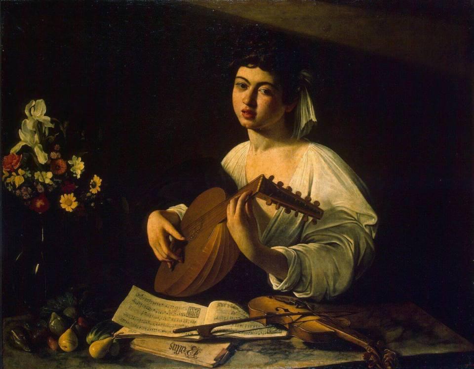 Caravaggio. Lute Player.