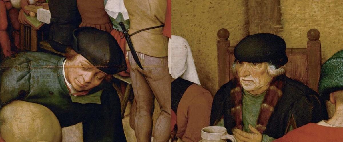 Bruegel the Elder. Peasant wedding.