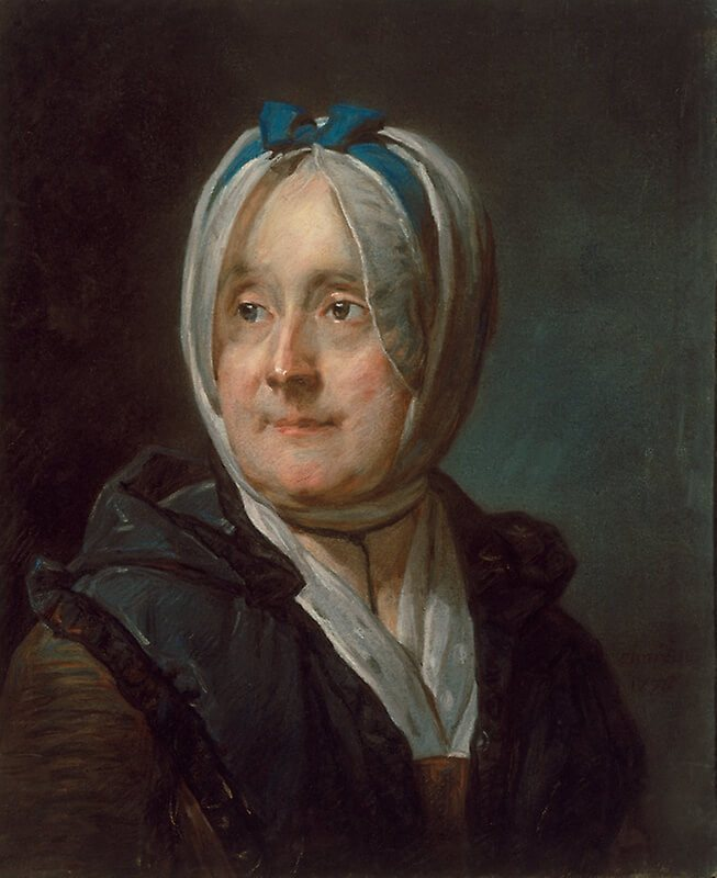Jean Baptiste Chardin. Portrait of the wife.