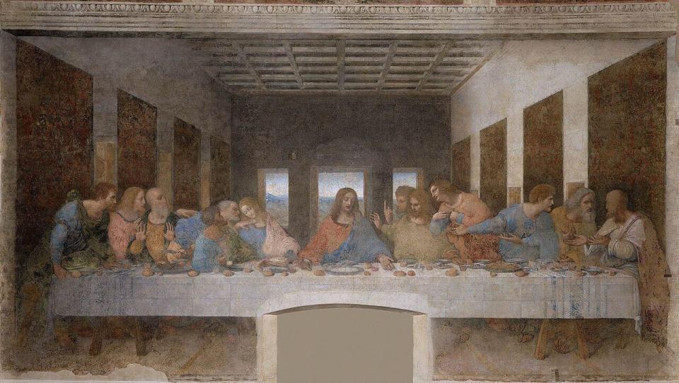 Leonardo da Vinci. The last supper.