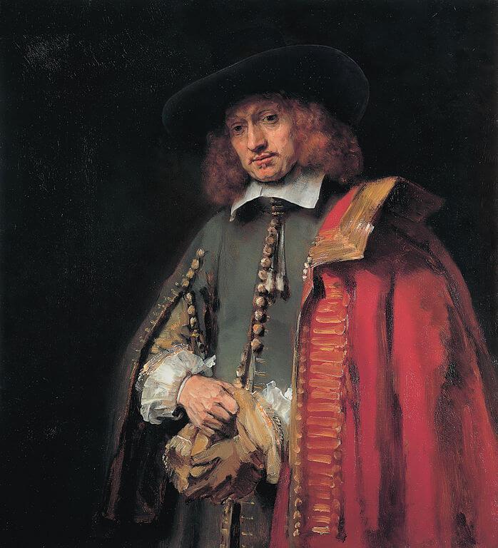 Rembrandt. Portrait of Jan Six.