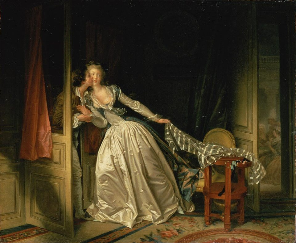 Jean-Honore Fragonard. Stolen Kiss.