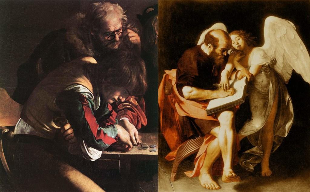 Caravaggio. St. Matthew