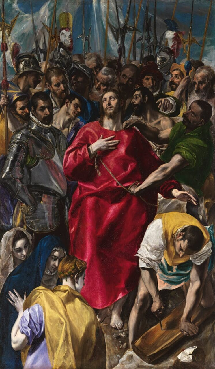 El Greco. Disrobing of Christ.