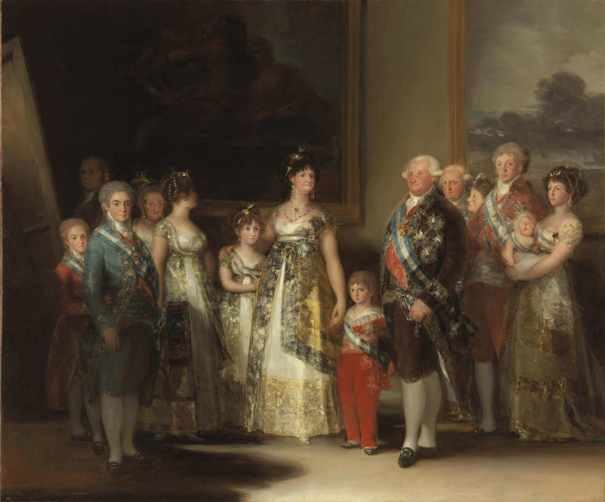 Francisco Goya. Family Portrait of Charles IV.