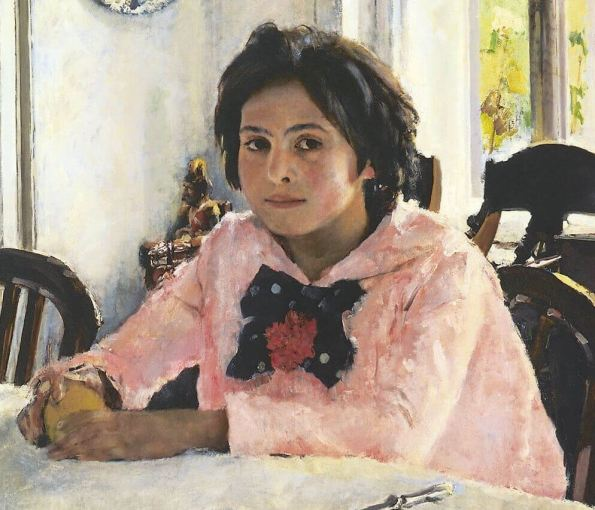Valentin Serov. Girl with peaches.