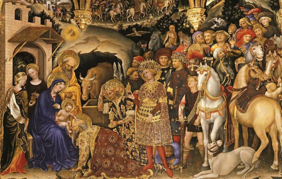 Gentile da Fabriano. Adoration of the Magi. 1423.