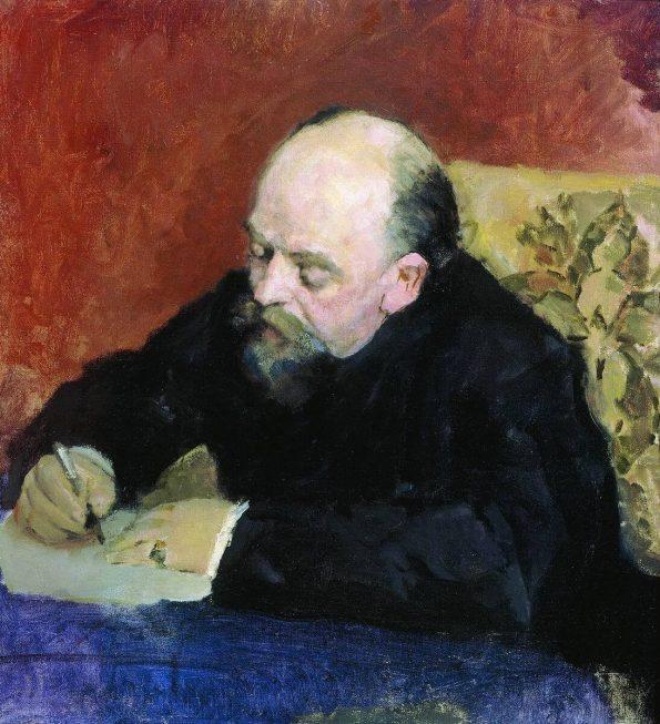 Valentin Serov. Savva Mamontov.