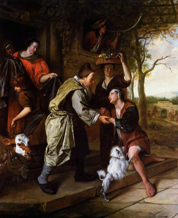 Jan Steen. Return of the Prodigal Son.