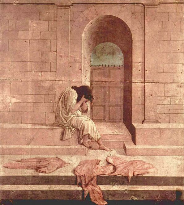 Sandro Botticelli.The Outcast.