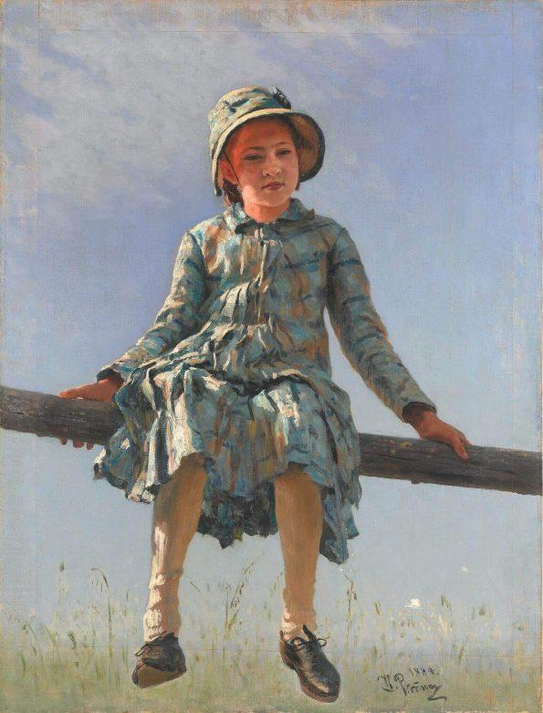 Ilya Repin. Dragonfly.