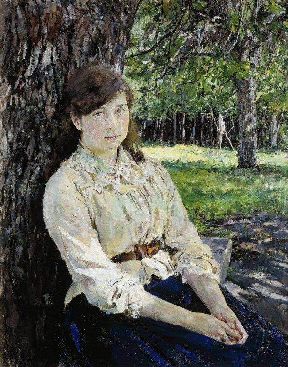 Valentin Serov. Girl Illuminated by the Sun.