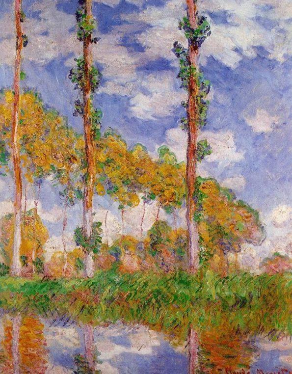 Monet. Three Poplars