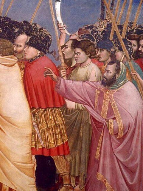 Giotto. Kiss of Judas (fragment)
