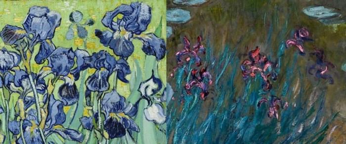 Van Gogh and Monet