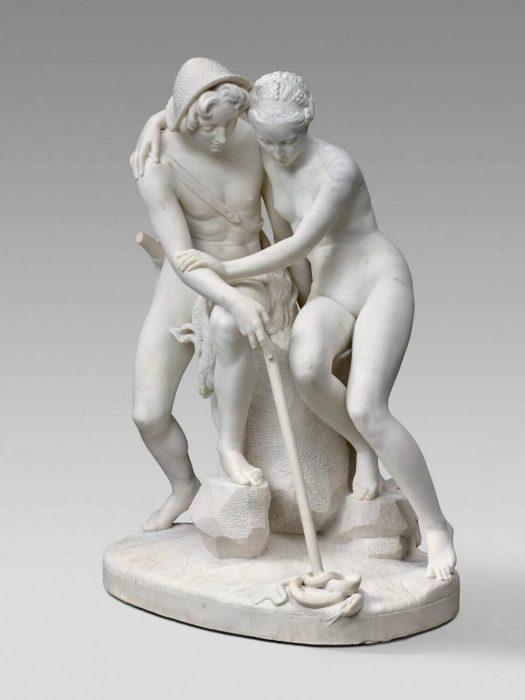 Raymond Geyrard. Daphnis and Chloe. 1855.