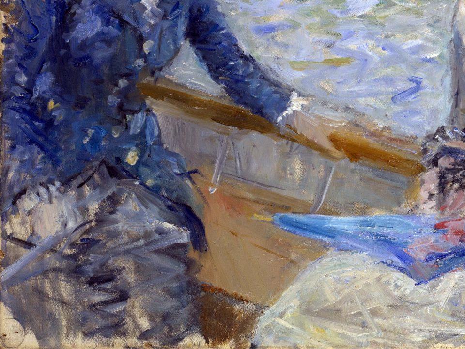 Berthe Morisot. Summer day. Detail