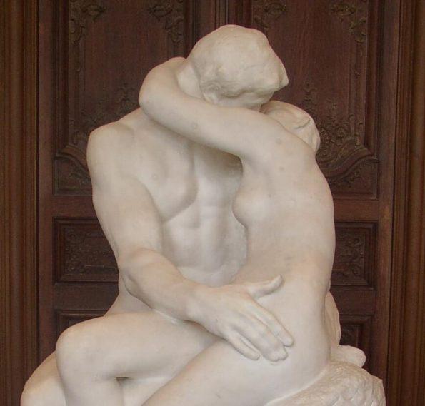 Auguste Rodin. Kiss.