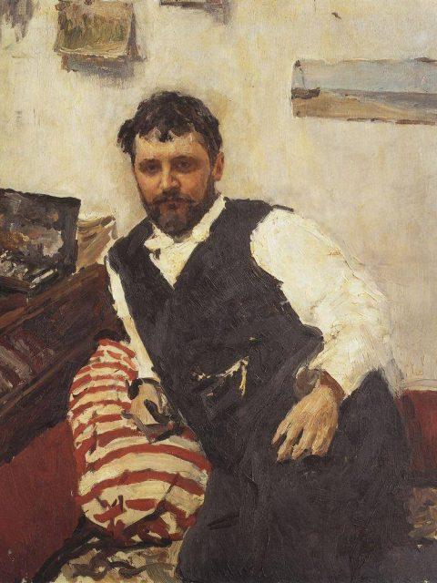 Serov. Portrait of Korovin