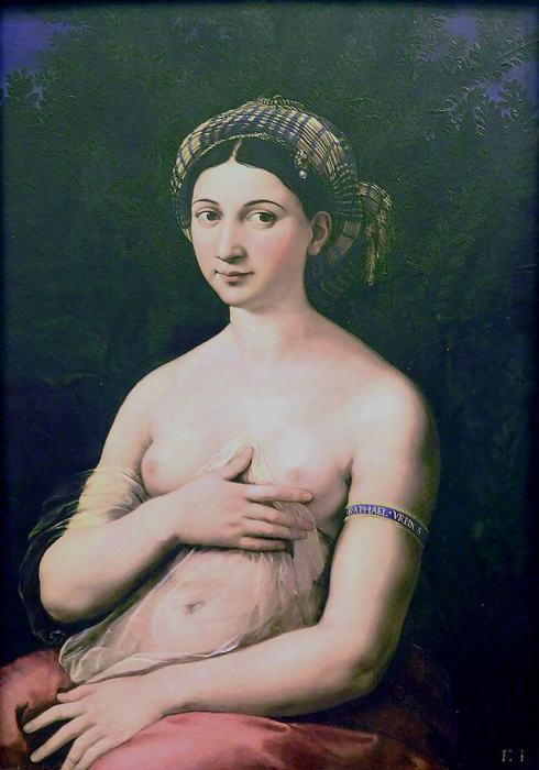 Fornarina by Raphael