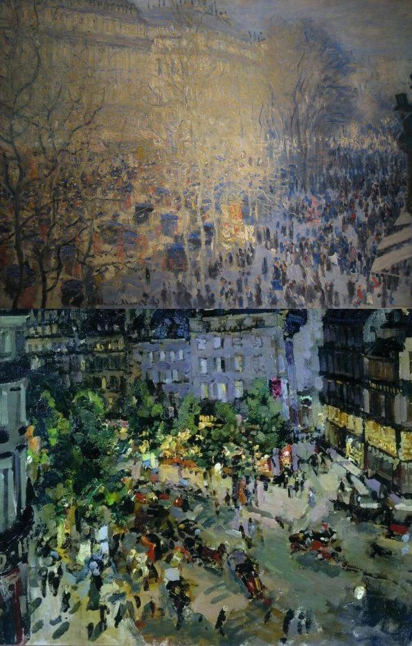 Korovin and Monet