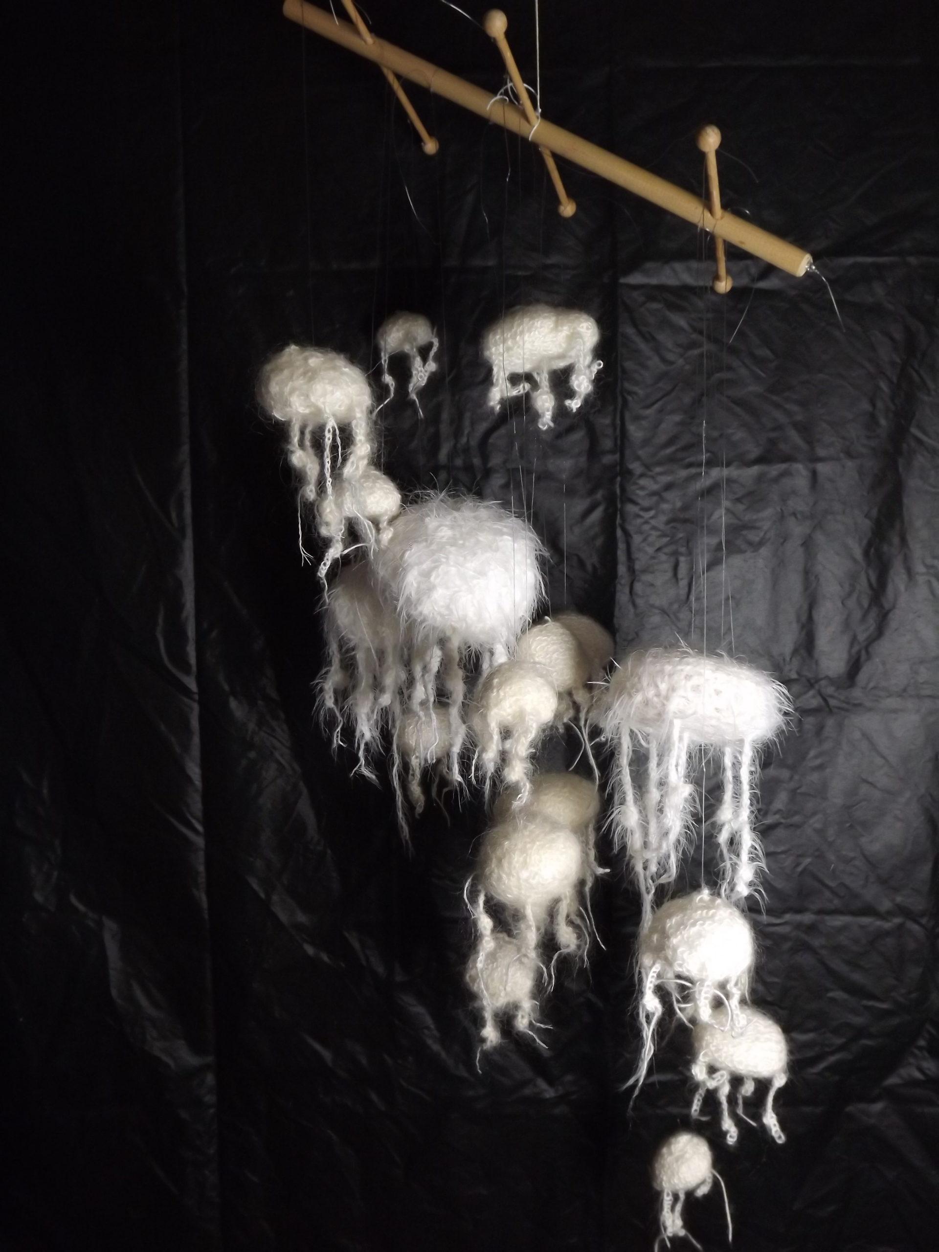 Créations textiles : le rire de la méduse (Véronique Fuchs-Sublon - 2015)