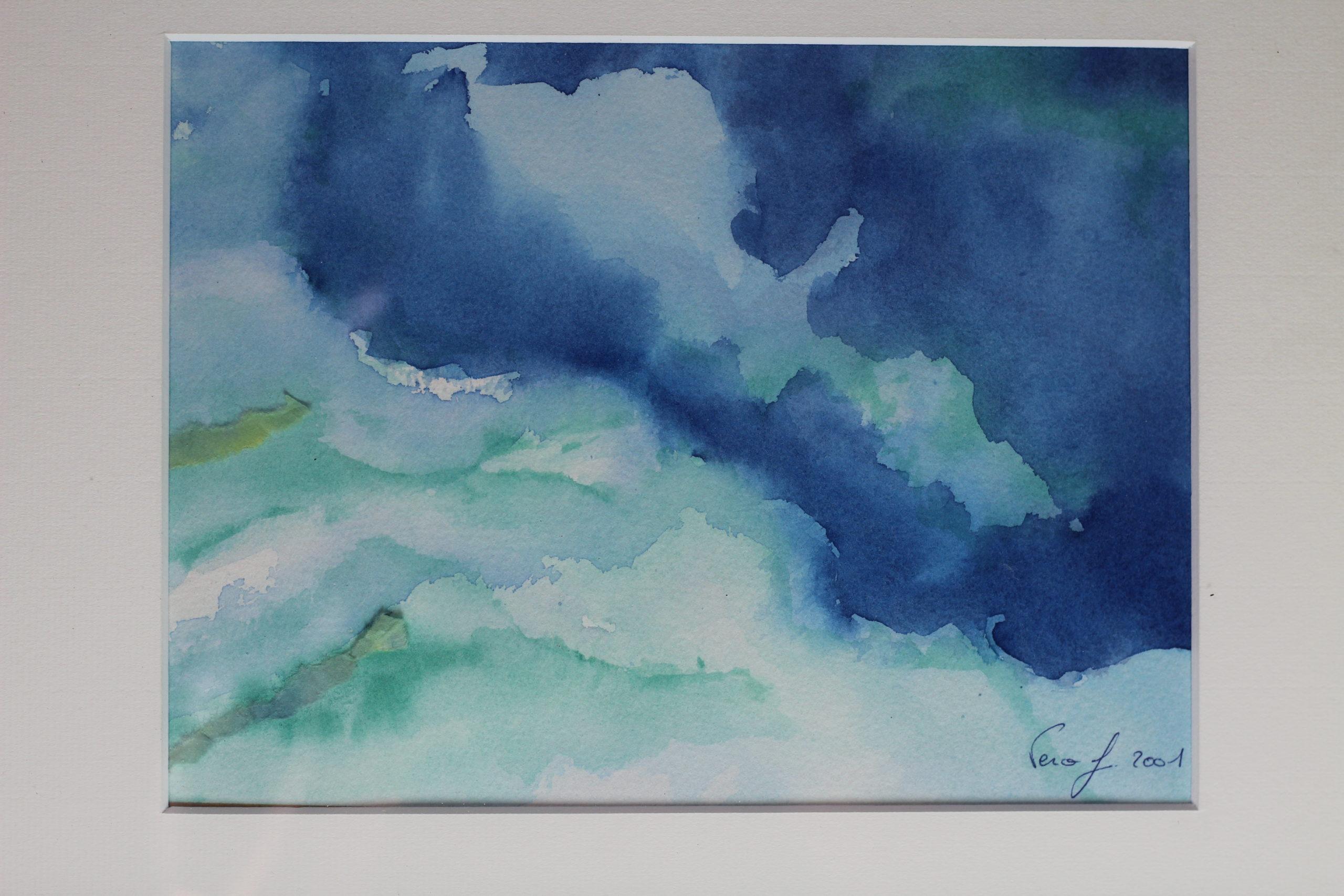 Peinture : Eau aquarelle (2001)