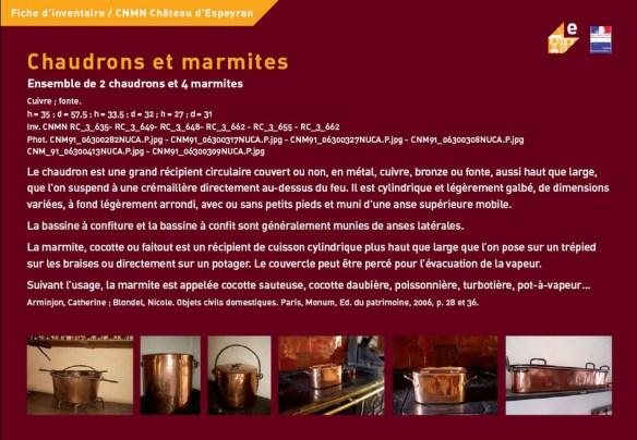 Chaudrons et marmites
