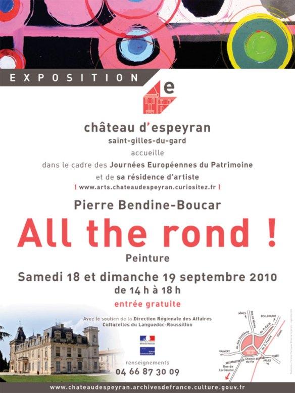 """Exposition """"All the Rond"""" Journées du Patrimoine à Espeyran"""