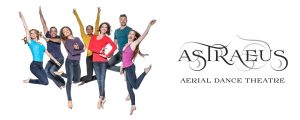 Astraeus Aerial Dance Theatre: Terminal 2 West, Ticketing (Post-Security) @ San Diego International Airport
