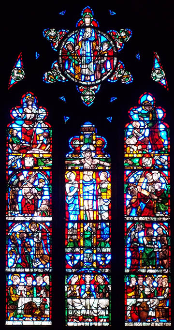 image of window: Passion of Our Lord