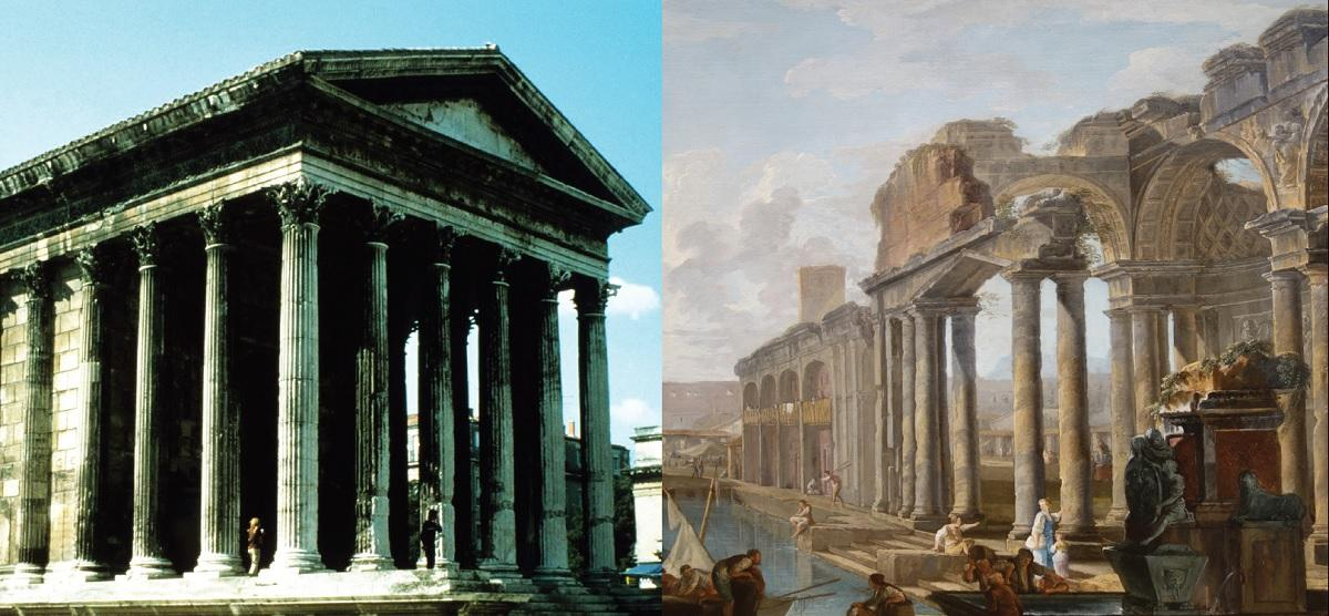 The Life and Afterlife of Ancient Roman Architecture  UC