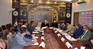 Faculty of Arts at the University of Kufa hosts the meeting of the sectoral committee of heads of geographical sections in Iraqi universities