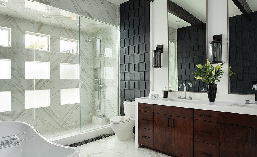 7 textured tile designs that bring a