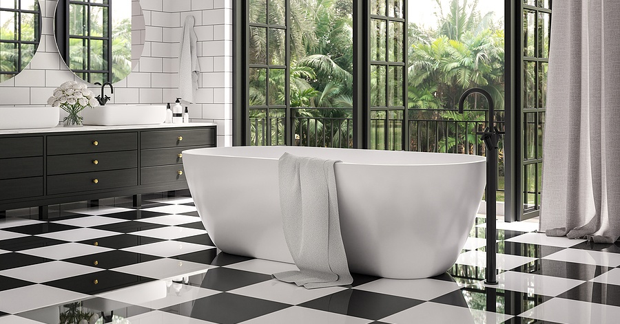 these bathroom tile design ideas