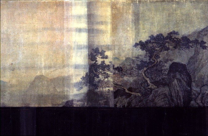 Yu-Wen Wu (Painting Fellow '04), DREAMING (2003), ink, paper, acrylic on canvas.