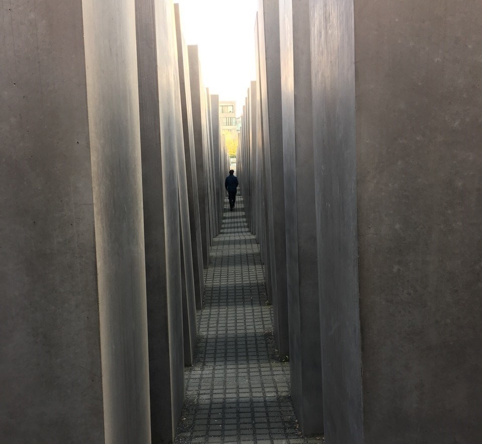 Image from the Memorial to the Murdered Jews of Europe, in Berlin.
