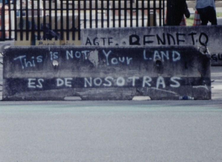 Still image from EL SIGNO VACÍO (THE EMPTY SIGN), a film-in-progress by Kathryn Ramey (Film & Video Fellow '15).